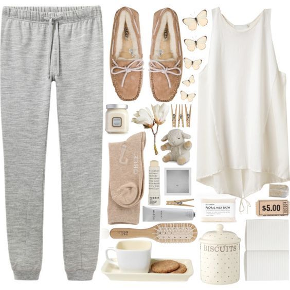 innovative lazy day outfits for home 14