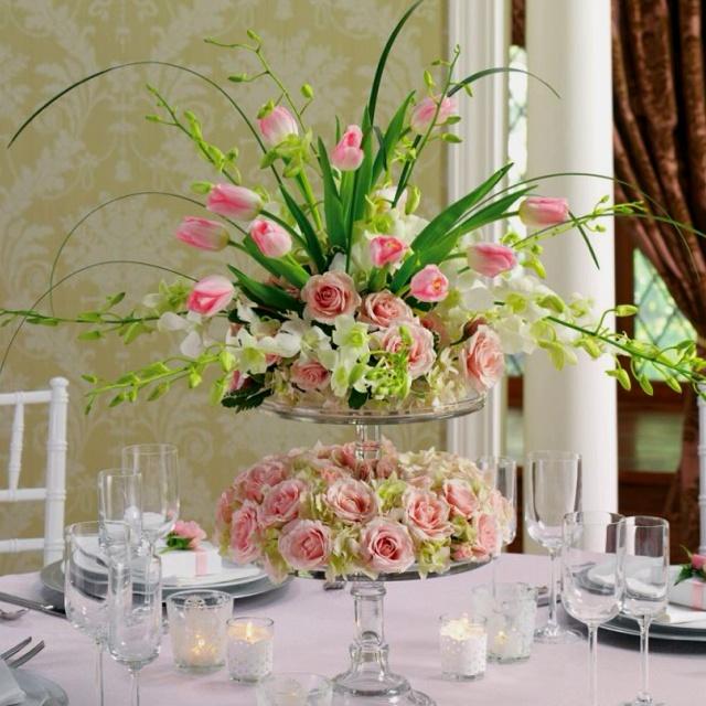 Different take on a wedding arrangement