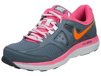 12ad926c0e3bb Nike Dual Fusion Lite 2 Msl Womens 642826-403 Grey Pink Running Shoes Size  8