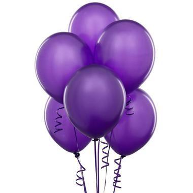 Perfect Purple (Purple) Latex Balloons