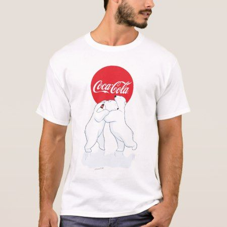 Coca-Cola Polar Bear Hug T-Shirt - click to get yours right now!