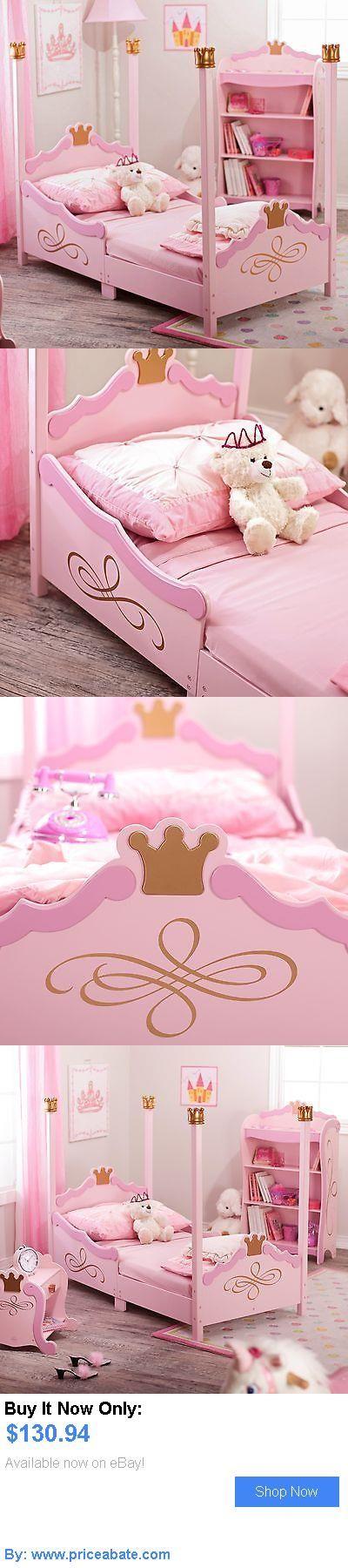 Kids Furniture: Kidkraft Princess Toddler Bed - - 76121, Pink, Toddler Bed BUY IT NOW ONLY: $130.94 #priceabateKidsFurniture OR #priceabate