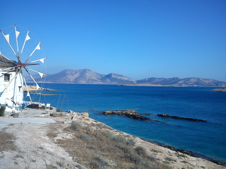 windmill, keros, koufonisia, greece