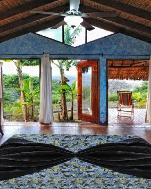 Hacienda Puerta del Cielo close to 2 volcanoes and the Mombacho Cloud Forest  (Masatepe, Nicaragua) - #Jetsetter ($159)