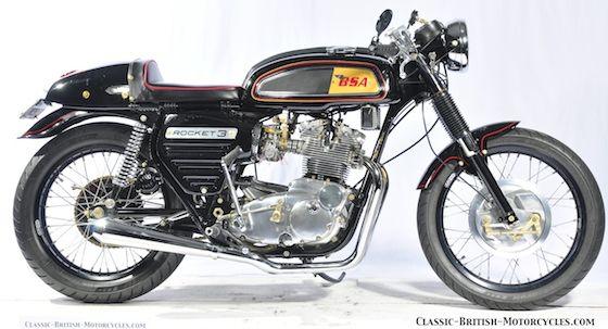 1969 BSA ROCKET 3 CAFE RACER