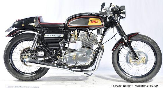1969 BSA ROCKET 3 CAFE RACER