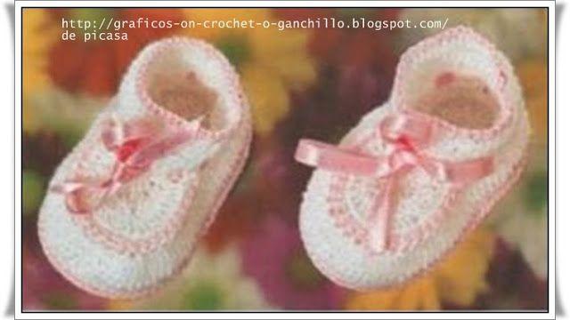 CROCHET - CROCHET - Sponsors - GRAPHICS: ZAPATITOS BABY CROCHET FABRIC
