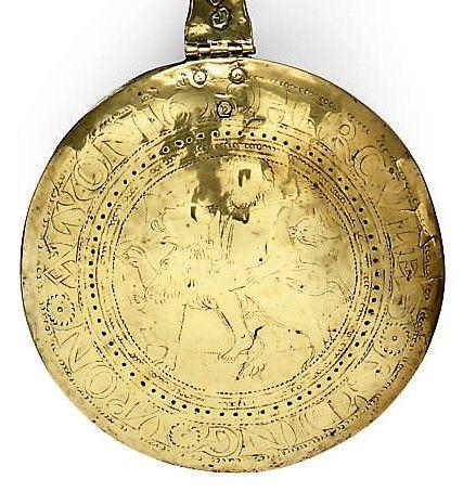 Legend: HERCVLES RYDING VPON A LYON 1629. Sold Christie's Roger Warner Coll. 20-21 Jan 2009, lot 299