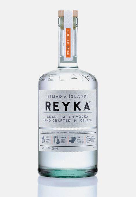 Reyka Vodka. #packaging #beautiful #freshh