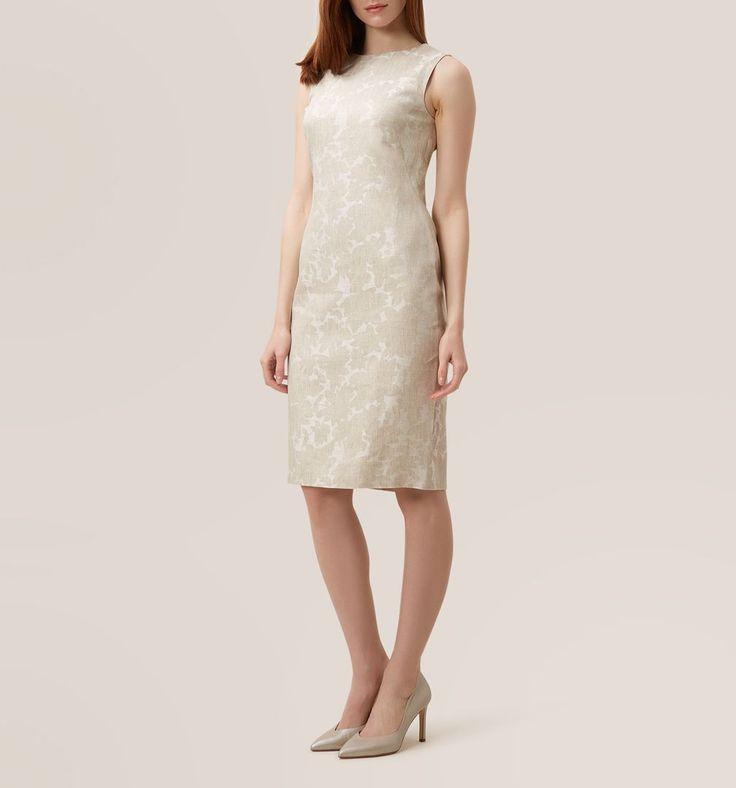 Beige Faye Dress   Smart Dresses   Dresses   Hobbs