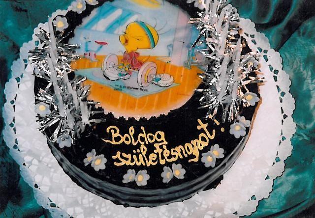 Születésnapi torták - Amaretto