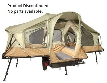 This is awesome! Lifetime Tent Trailer - 65043 Off Road Camping Tent Trailer