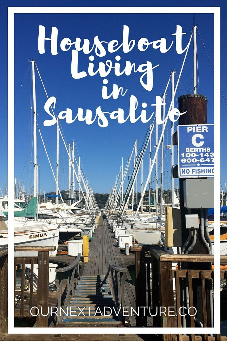 Renting a houseboat in Sausalito, California through Airbnb // San Francisco Day Trip | Couples Trip | Unique Places to Stay