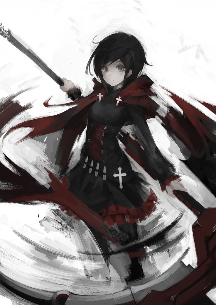 Ruby Rose RWBY  Credits to the artist