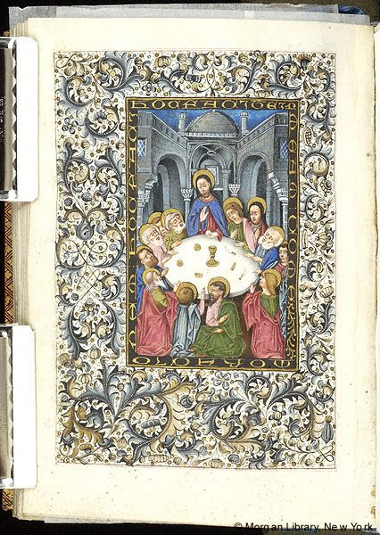 Book of Hours, MS M.854 fol. 202v - Images from Medieval and Renaissance Manuscripts - The Morgan Library & Museum
