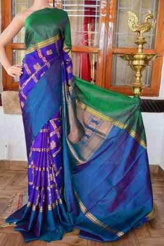 c090d82848e6b Pretty Multi Color Soft Silk Designer Sarees - cnd906