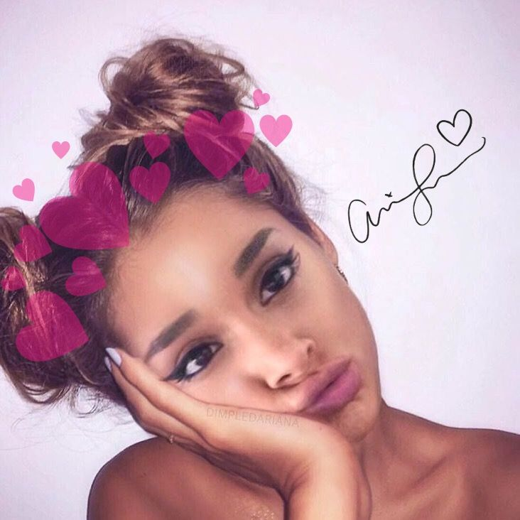 She Looks So Cute With Space Buns �� Arianagrande