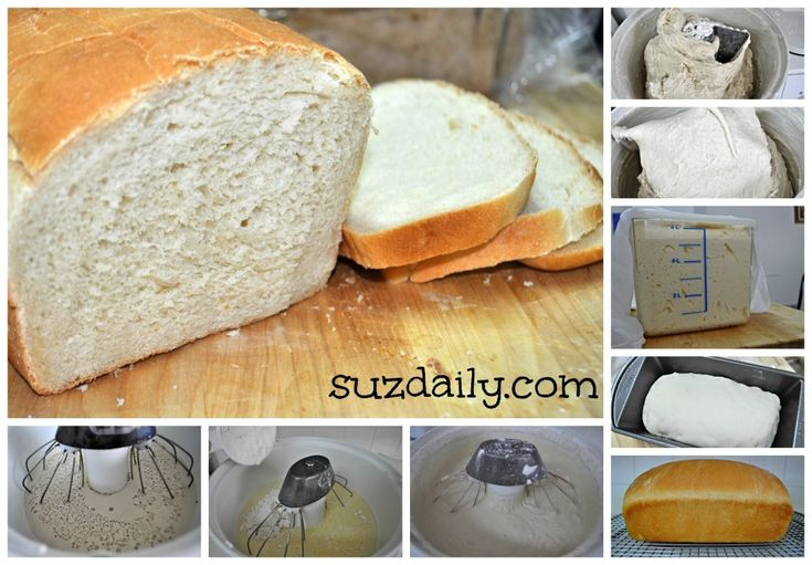How to make white bread in the Bosch.  Step-by-step tutorial.  Very easy to follow.  Recipe adapted from King Arthur Sandwich bread Recipe.