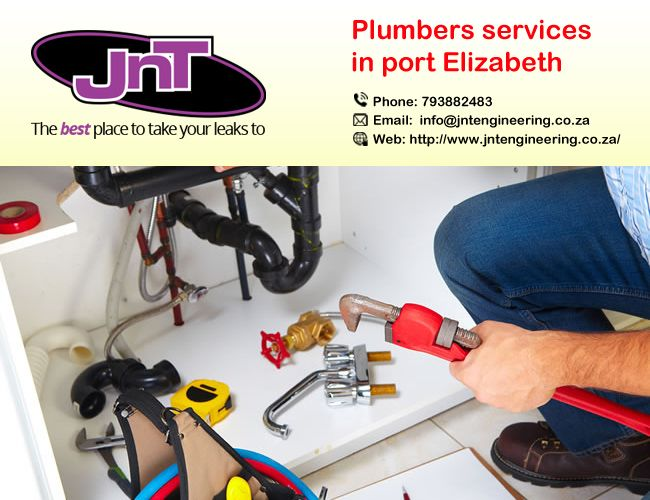 JNT are expert business and #professional providers of plumbing services in Port Elizabeth who #provide high quality pipes installation and maintenance work. http://bit.ly/2hMUWkb