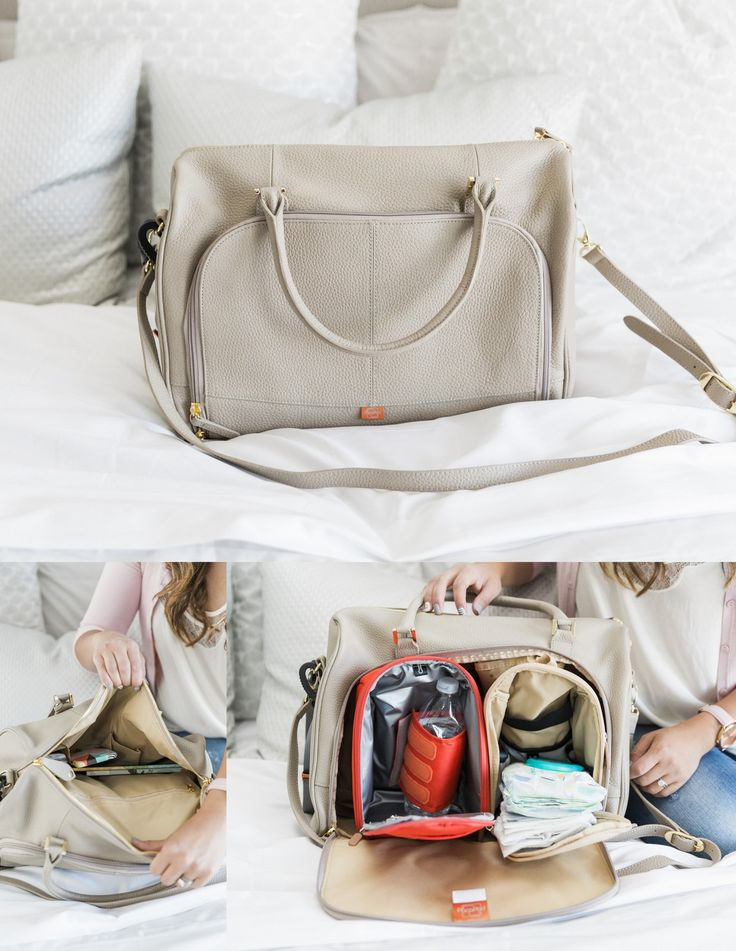 PacaPod Firenze Stylish Diaper Bag - Images via @sandyalamode