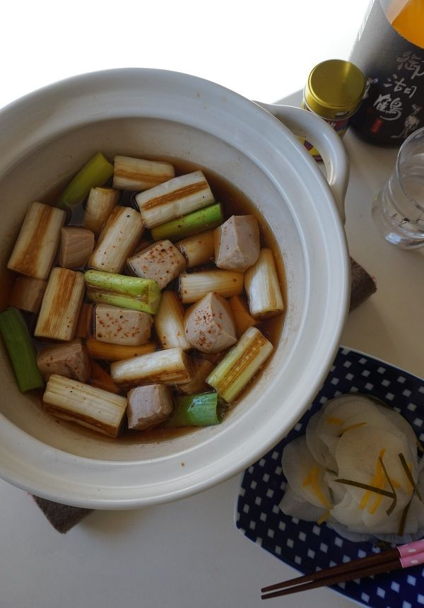 日本酒が進む♪ねぎま鍋