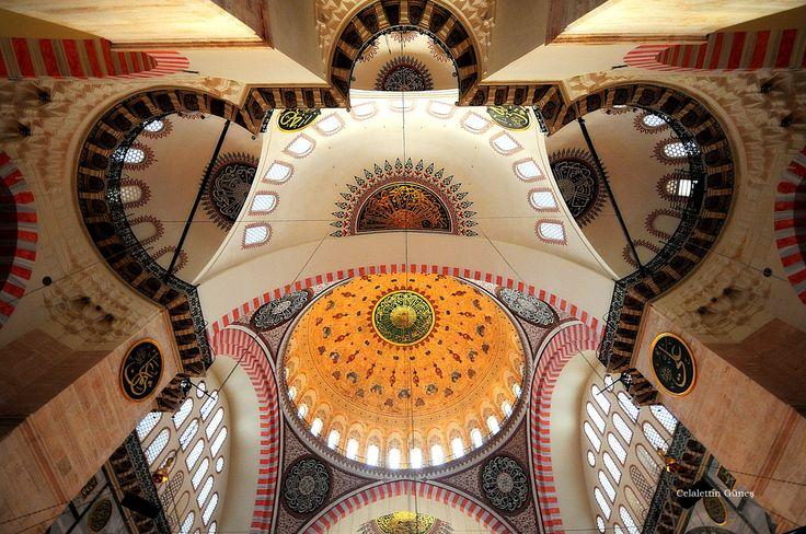 Sinan and Symmetry / Suleymaniye Mosque by Celalettin Güneş on 500px