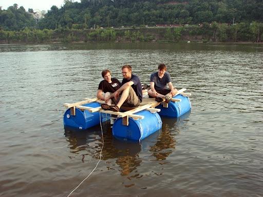 Homemade Raft Cool Stuff Raft Building Floating Raft