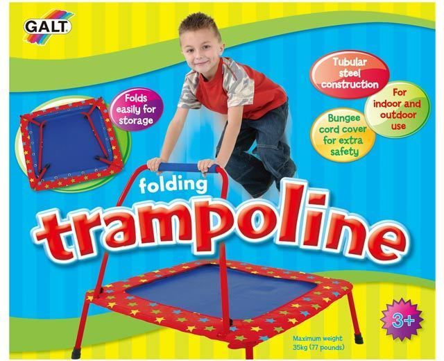 Toddler Folding Trampoline Galt Toys 3 yrs+ up to 77 pds NEW #GaltToys