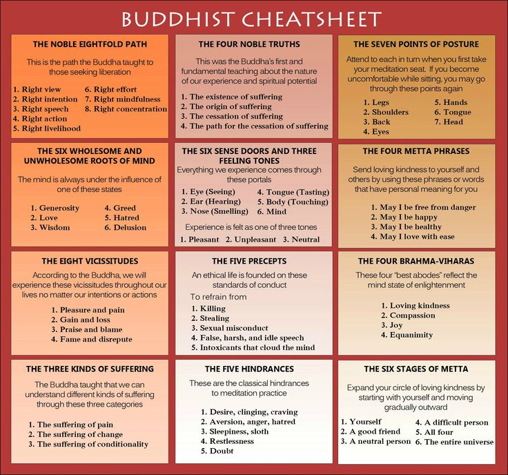 12 laws of karma buddhism - Google Search