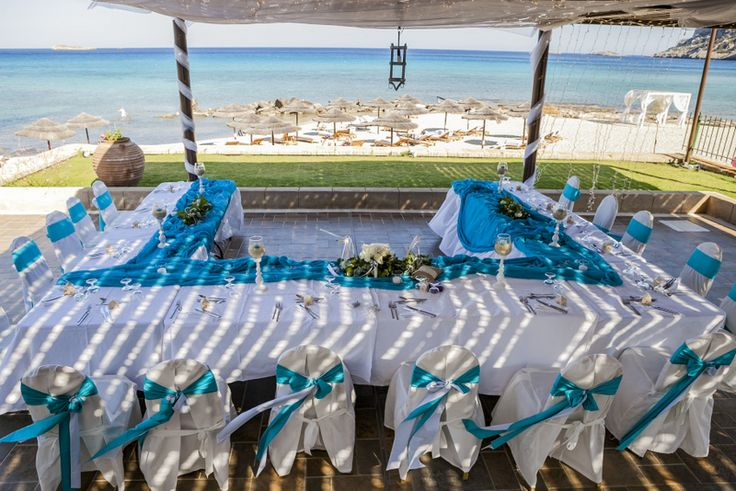 Lindos Beach weddings in Rhodes by The Bridal Consultant
