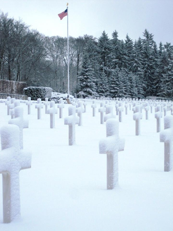 American Military Cemetery in Luxembourg, Belgium