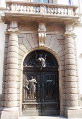 Padova - Entrance to the Palazzo del Bo