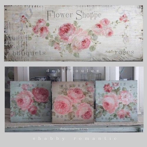 FREE DOMESTIC SHIPPING on all shabby cottage signs at www.debicoules.com