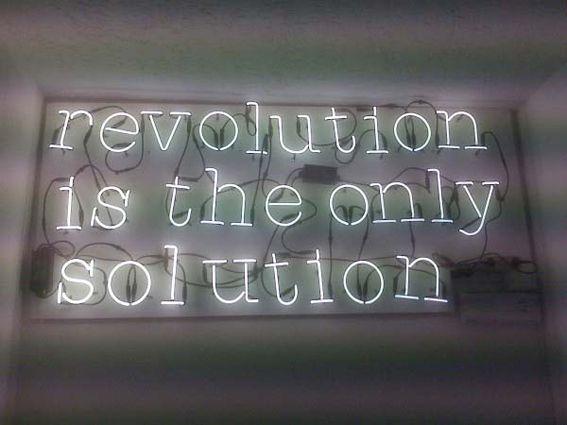 Revolution is the only Solution. #BernieSanders #FeelTheBern #PoliticalRevolution