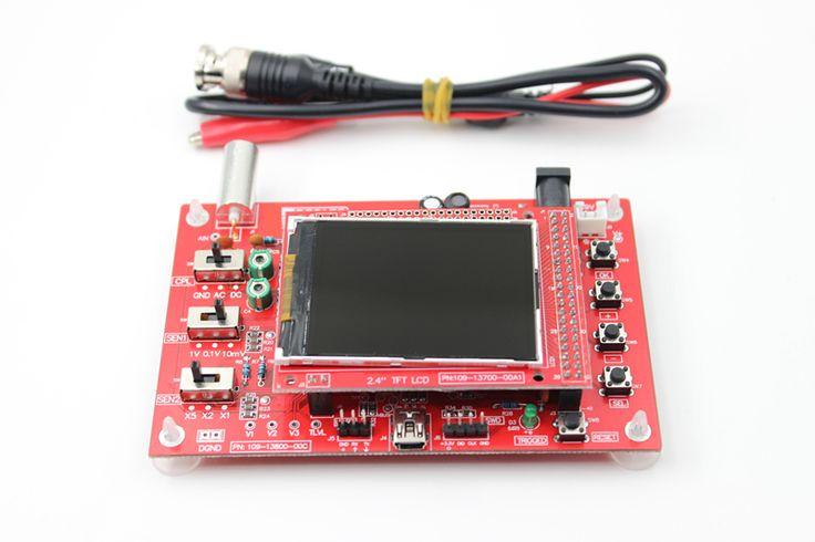 DSO138 Soldado Kit DIY Piezas Electrónicas de bolsillo Del Osciloscopio Digital