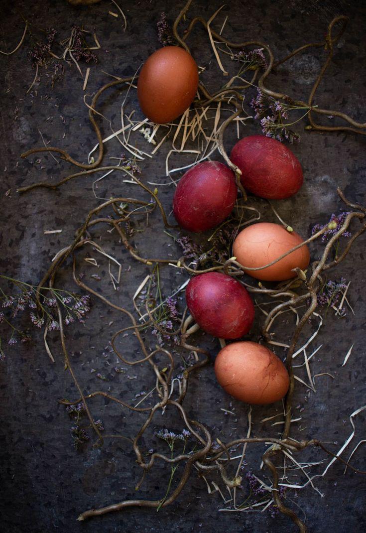 naturally dyed eggs onion skin diadonna
