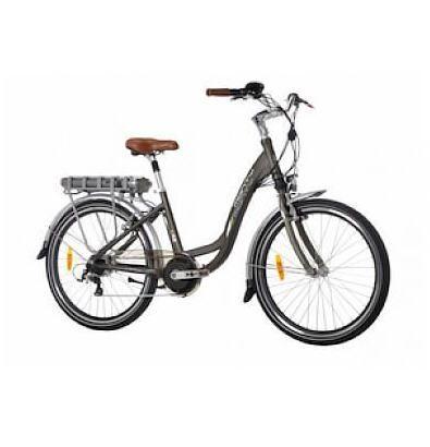Vélo de Ville Femme Go Sport promo Velo electrique de ville Monty E48 Evo Beige foncé prix promo Go Sport 1 499.00 € TTC
