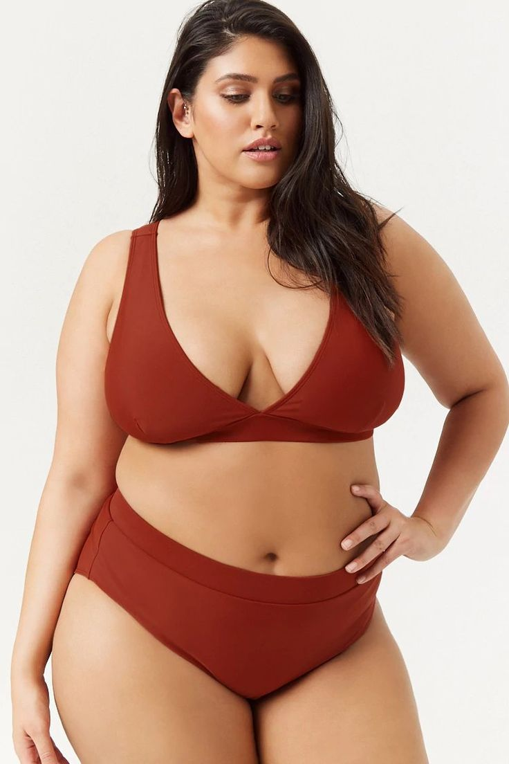 Beautiful Bikini Tops. Our plus size womens bikini tops scream summer, beach and sunshine. Curvy Swimwear has a range of styles, colours, and cuts for a variety of fashionable and feminine styles.