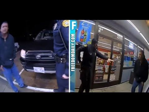 Mexican Guy Pulls Gun On Cops, Watch How This Officer Disarms Him And Th...