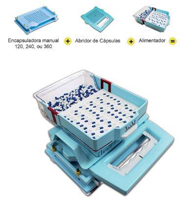 Se você já tem uma encapsuladora manual Color Plus 120, 240 ou 360 cápsulas basta adquirir a abridor + alimentador e transforme sua encapsuladora manual em uma semiautomática Tamanhos dísponiveis:- A00 - A0/ - A1/ - A2/ - A3/ - A4 #abridor #abridordecapsulas #ideal #equipamentos #capsulas #farmacias #farmaceuticos #laboratorios