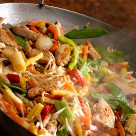 Délicieux chop suey au poulet SIMPLIFIÉ à 5 ingrédients....Je vais remplacer le poulet par du tofu :)