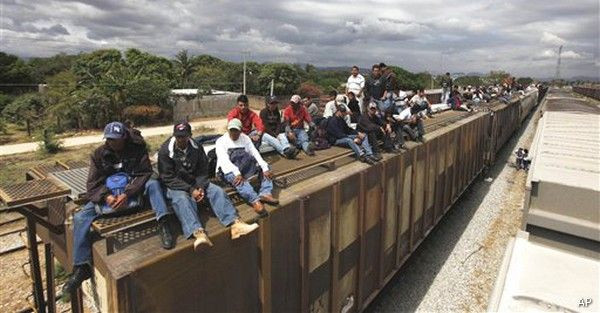 Close the friggen border!!!  Illegals triple in numbers due to talk of amnesty to get free American benefits at the taxpayer expense.  Democrats get new voters (party of giving away other people's hard work).