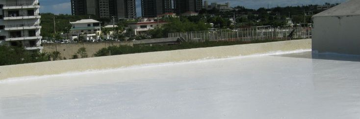 NovaTuff Coatings epoxy roof coating installations for Concrete Roofs.