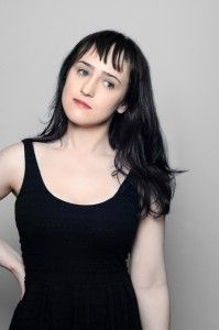 Mara Wilson - yes she played Matilda, she was super cute and she's still amazingly beautiful, this link is to her blog Mara Wilson Writes Stuff - there's not a ton but she has some great things written there