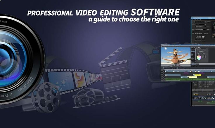 A Guide to Professional Video Editing Software: If you are an internet marketer or a company owner who wants to make 2d animation for promoting business, then you may look for completely different editing software to do your work. Though, some of the professional video editing software has already build engines to do both. There are also some free video editing software and online video editing software for doing simple stuffs.