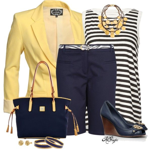 """Back to School in Bermudas Contest"" by kginger on Polyvore"