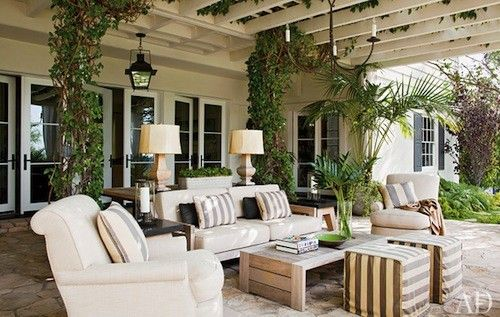 Outdoor spaces outdoor-rooms