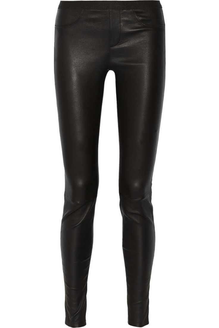 Helmut Lang – Stretch-leather leggings