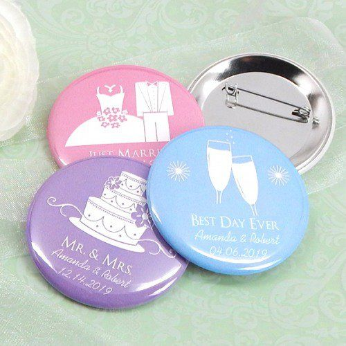 Personalized Button Pin by Beau-coup
