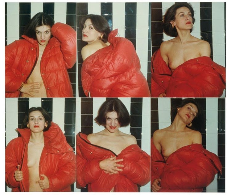 Paloma Picasso, The Red Coat SeriesPhotograph by Antonio Lopez
